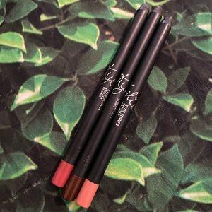 Kylie Lip Liner Pencils Exposed Kristen True Brown